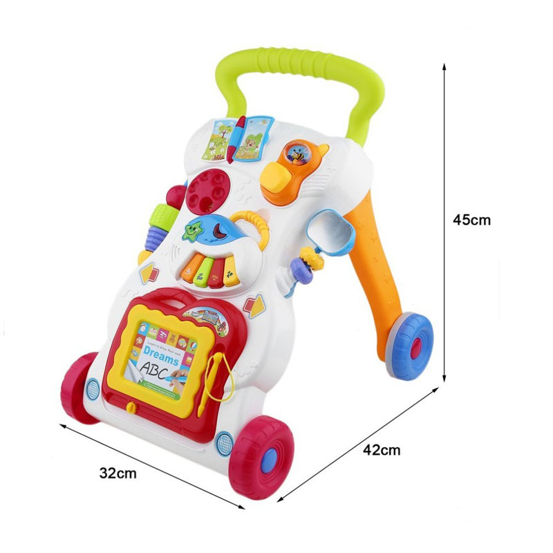 Baby Four Wheel Walker