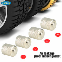 Aqtqaqq – bouchon de Valve à fente en cuivre, 8 pièces/lot, couvercle de Valve de pneu, couvercle anti-poussière d'air, capuchon de tige pour voiture moto accessoire Schrader