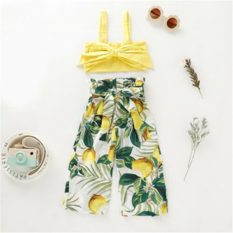 2020-Summer-2pcs-Newborn-Toddler-Infant-Baby-Girl-Clothes-children outfits(1)