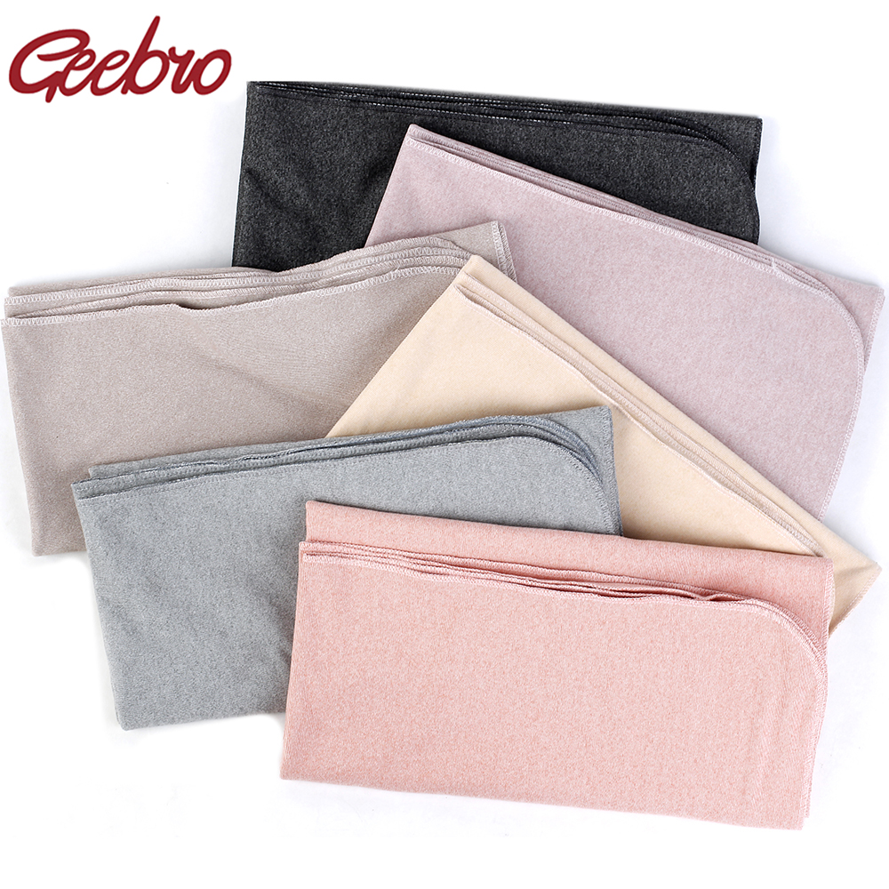Geebro Newborn Autumn Winter Cotton Baby Blanket Soft Warm Infant Bedding Swaddle Blanket Boys Sleeping For Boy Girl Quilt