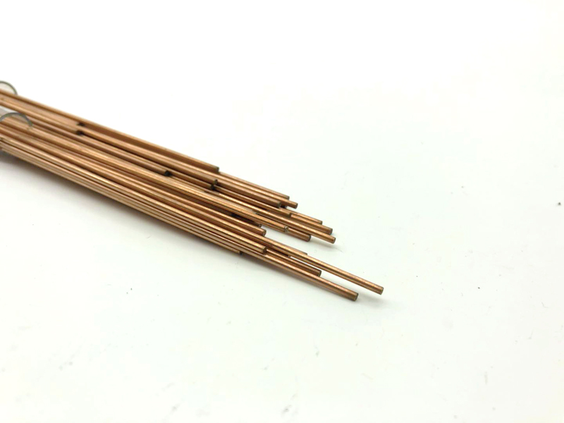 Copper Electrode Tube 1.9mm*400mm Multi Hole for EDM Drilling Machine image