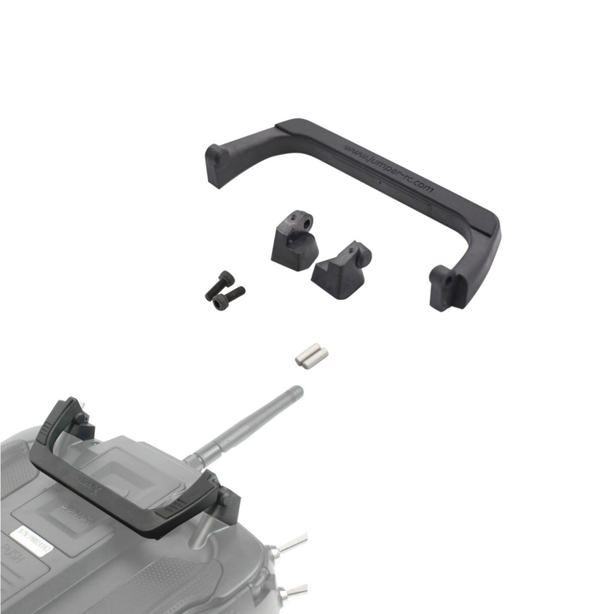 Jumper T16 T18 Upgrade Folding Handle For T16, T16 Plus, T16 Pro Handle Spare Parts For Transmitter Radios