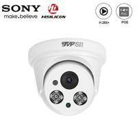 Hi3516c dois leds infravermelhos array plástico 5mp/3mp h.265 + 25fps indoor poe áudio ip segurança cctv hemisfério cúpula câmera|security cctv camera|cctv camera|dome ip -