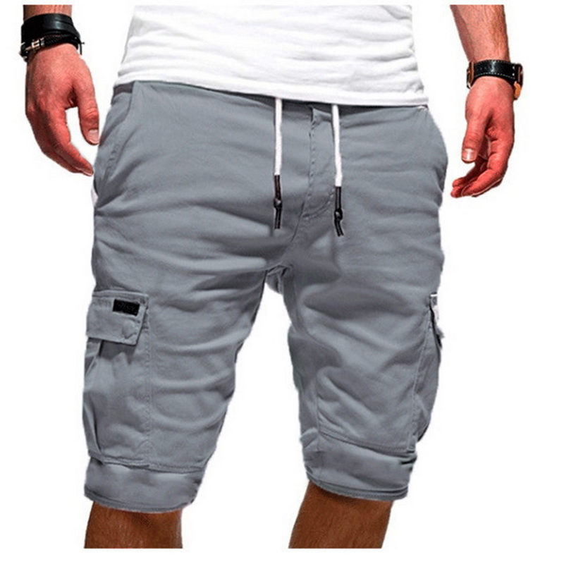 DIHOPE 2020 Summer Shorts New Men's Casual Multi-pocket Men's Five-pants Male Hot Sales Men Solid New Brand  Fashion Shorts