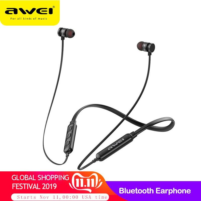 It11s bluetooth fone de ouvido sem fio fone com microfone neckband 3d baixo estéreo esporte fones para telefone fone de ouvido