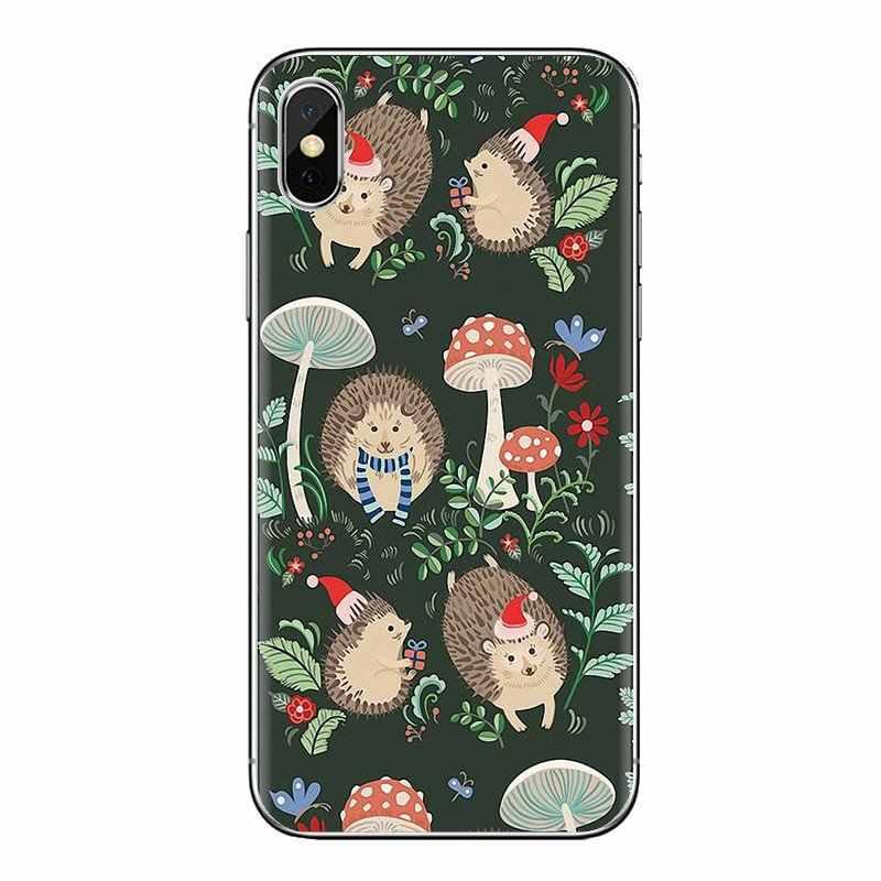 Coque téléphone étui pour huawei P Smart Y6 P8 P9 P10 Plus Nova P20 Lite Pro Mini 2017 SLA-L02 SLA-L22 2i mignon animaux hérissons souris