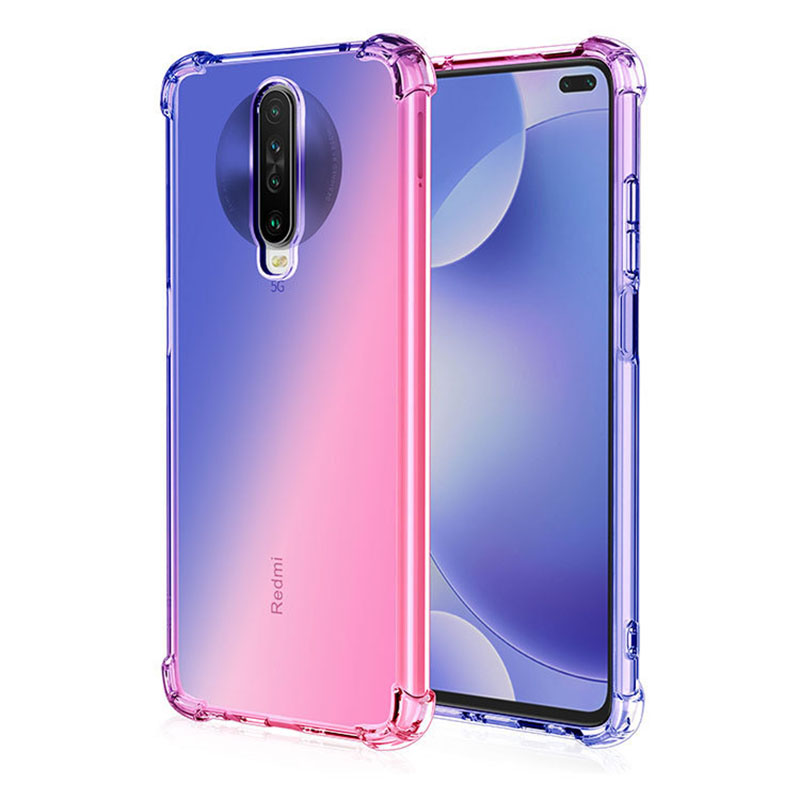<font><b>Silicone</b></font> Gradient <font><b>Soft</b></font> <font><b>Case</b></font> <font><b>For</b></font> <font><b>Xiaomi</b></font> Redmi K30 K20 <font><b>mi</b></font> 9t Pro <font><b>MI</b></font> Note 10 <font><b>mi</b></font> A3 A2 Lite Note 8 Pro 7A 8A Coque <font><b>Shockproof</b></font> Cover image