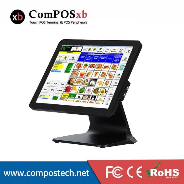 Compos – système de point de vente tout-en-un avec écran tactile de 15 pouces, pour Restaurant et usine, prix bas 1