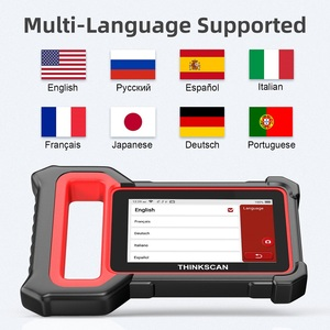Image 5 - THINKCAR Thinkscan Plus S7 OBD2 Scanner TPMS Oil DPF Throttle Reset Airbag  BCM ECM TCM IC AC ABS System Car Diagnosis Scanner