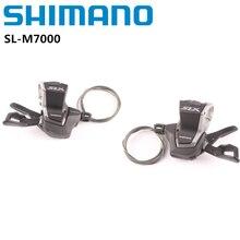 Shimano Deore SLX SL M7000 Deore M5100 משמרת MTB אופניים אופני חלק 3x11 2x11 מהירות מחלף ימני שמאל משמרת מנוף w/פנימי כבל