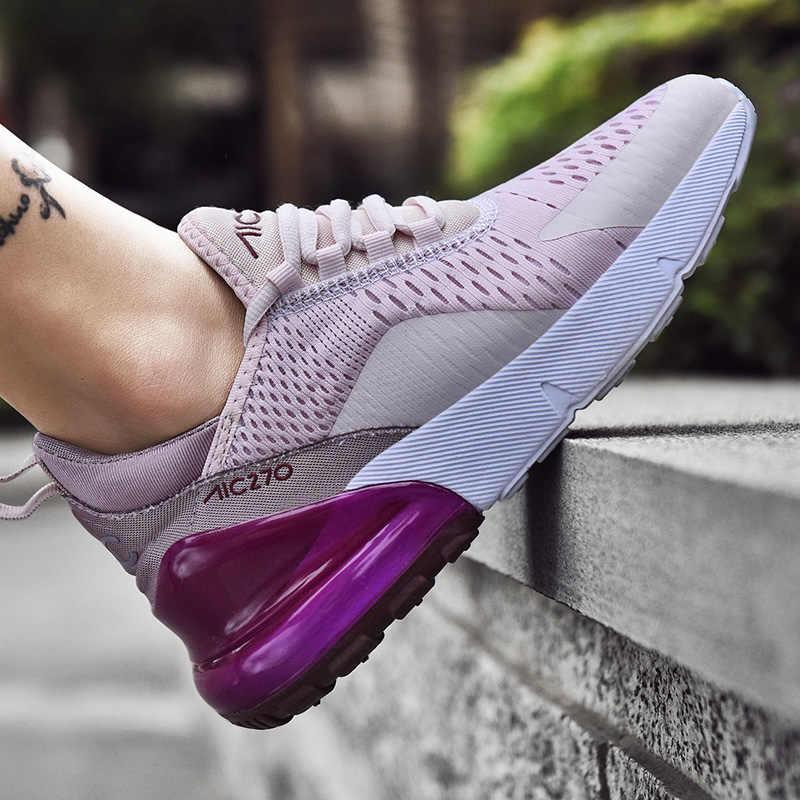 Hava nefes marka kadın spor hafif koşu ayakkabıları kadınlar için de mujer yüksek kaliteli çift Sneakers zapatos
