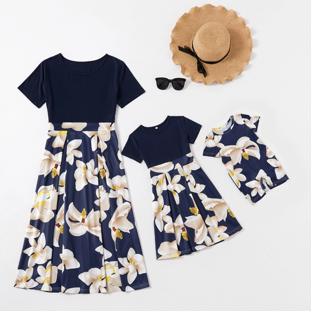 Baby Romper Outfits Mommy and Me Dress Summer Matching