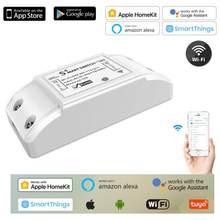 Basic R2 – interrupteur à distance intelligent sans fil, contrôle vocal Via Alexa et Google Home, contrôle à distance Via l'application EWeLink