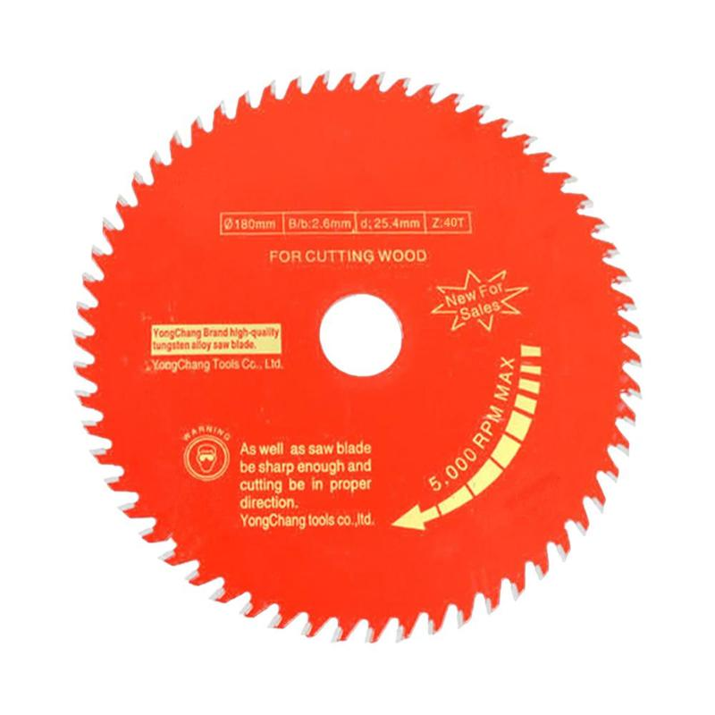 Woodworking Round Saw Blade Wood Cutting Disc Aluminium Alloy Sharp Durable Anti-Stamping Smooth Cut Surface Cutting Machine