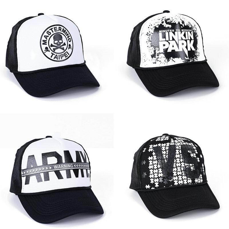 Summer Unisex Men Baseball Caps Women Breathable Mesh-Net Snapback Hats casual Trucker Cap adjustable