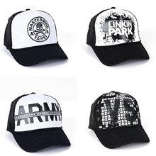 цены Summer Unisex Men Baseball Caps Women Breathable Mesh-Net Snapback Hats casual Trucker Cap adjustable