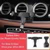 Soporte de teléfono de gravedad para coche soporte de ventilación de aire para teléfono de coche para Benz Clase E 2016 2019 E200 E300 W213 soporte para teléfono móvil para coche