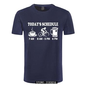 Nowe męskie koszulki śmieszne koszulki rowerowe koszulki rowerowe harmonogram koszulki 100 bawełniane nowe koszulki tanie i dobre opinie CINESSD Krótki CN (pochodzenie) O-neck tops Tees short Czesankowej COTTON Na co dzień Drukuj Men Women Unsex Funny Sayying Worker Programmer Gamer