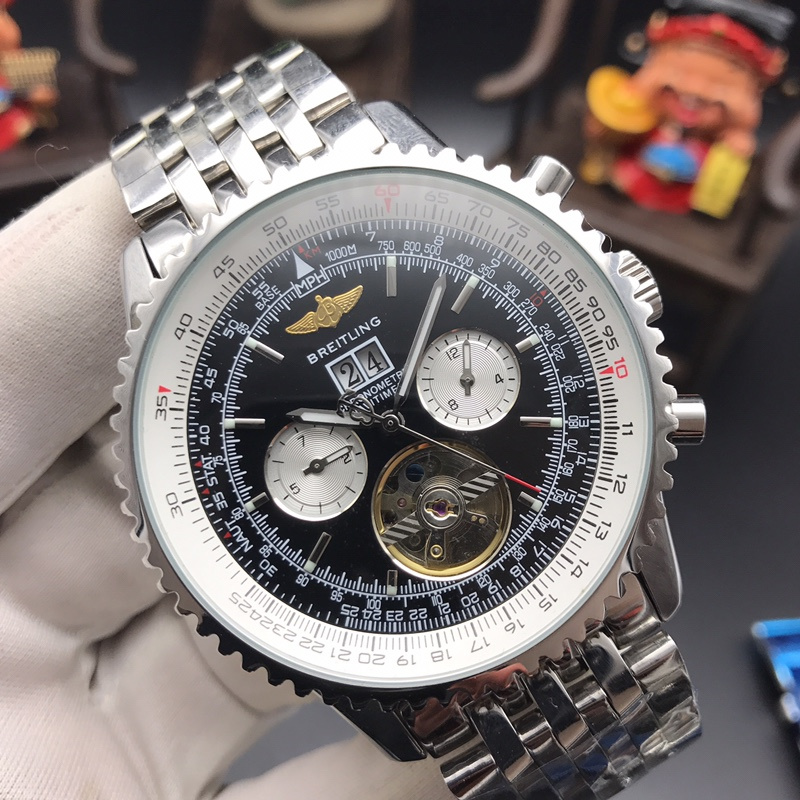 2020 Breitling Luxury Brand Mechanical Wristwatch Mens Watches Quartz Watch With Stainless Steel Strap Relojes Hombre Automatic