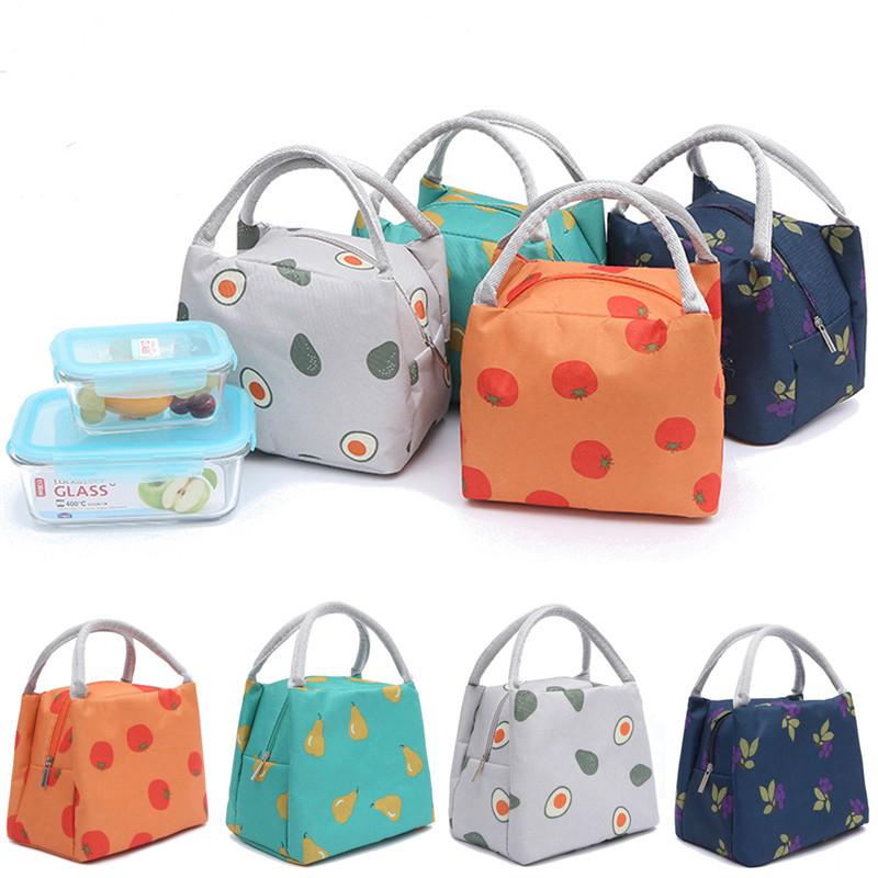 New Insulated Thermal Lunch Box Bag Outdoor Camping Picnic Carry Tote Storage Bag
