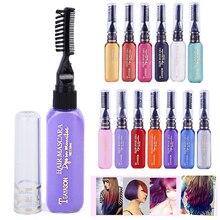 Новая мода Крем-краска для волос 13 цветов краска для волос DIY Временная Краска для волос тушь крем Праздничная Краска Ручка Высокое качество