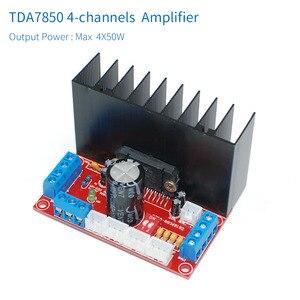 Image 2 - Scheda amplificatore Audio per auto unisiana TDA7850 4.0 canali 4X50W High Powr TDA7850 amplificatori a quattro canali per sistema auido auto