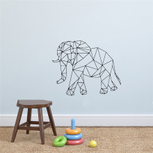 Style Large Geometry Animals Wall Sticker For House Decoration Living Room Bedroom Decor Art Decals Mural Wall Stickers
