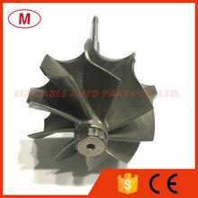 K04 46.47/52.00mm 9 blades Turbo turbine shaft &wheel/turbine wheel/Turbine shaft/for turbocharger cartridge/CHRA/Core