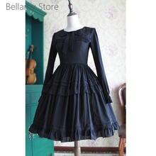 Готическая Лолита ежедневное агарическое кружевное милое платье