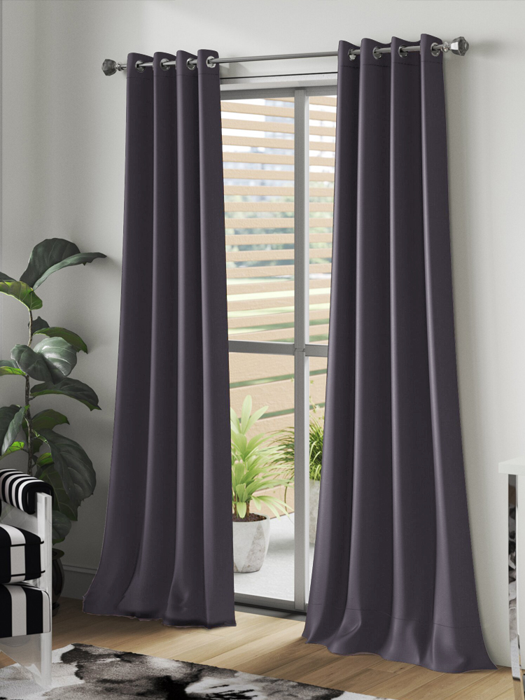 Blackout Curtains Blinds Drapes Bedroom Tend Living-Room Finished Ready-Made Modern JRD