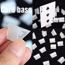 20 pcs Card Base for Board Games Children Cards Game Accessories