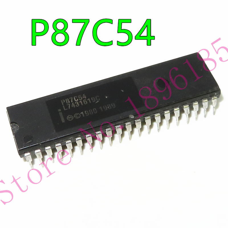 Новое поступление оригинальный P87C54X2FA P87C54 PLCC44 CHMOS однокристальная 8-битный микроконтроллер