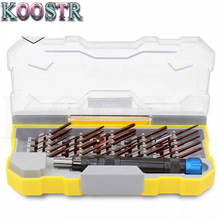 24 Pieces of Alloy Steel Precision Screwdriver Set Multi-function Apple Android Disassemble Repair Screwdriver Tool Combination