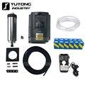 Watergekoelde 1.5KW/2.2KW Router Spindel + 1.5KW/2.2KW Inverter VFD + 80mm Spindel Mount Kit Voor workbee, lood CNC, OX CNC, C-Beam