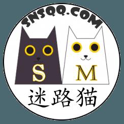 迷路猫的猫之LOGO改造,设计迷路猫的形象使人快乐