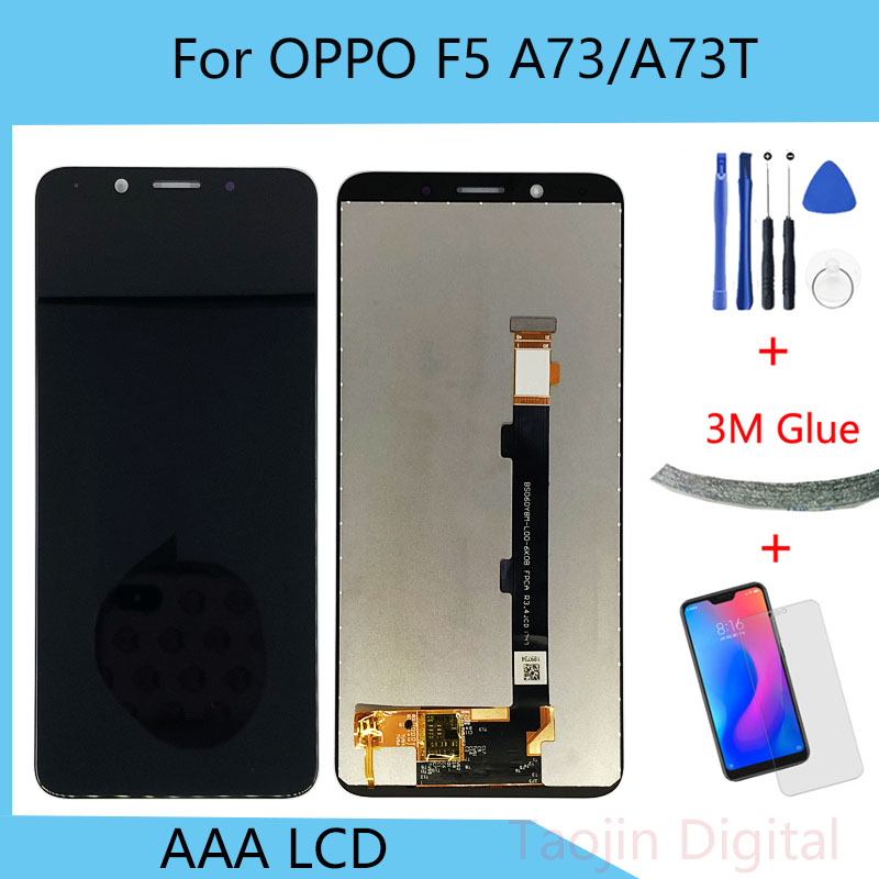 For <font><b>OPPO</b></font> A73 A73T / <font><b>F5</b></font> Youth LCD <font><b>Display</b></font>+Touch Digitizer Screen Assembly Replacement Parts image