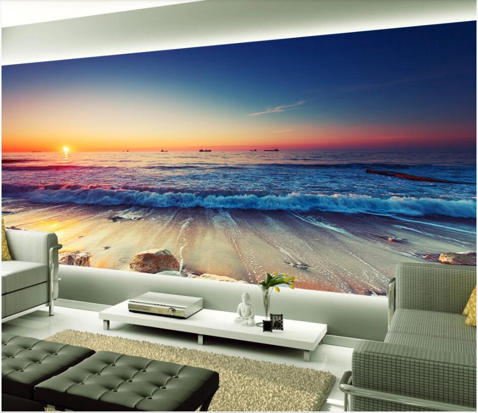 Evening Sky New York night sky 3d wallpaper home decoration murals living room