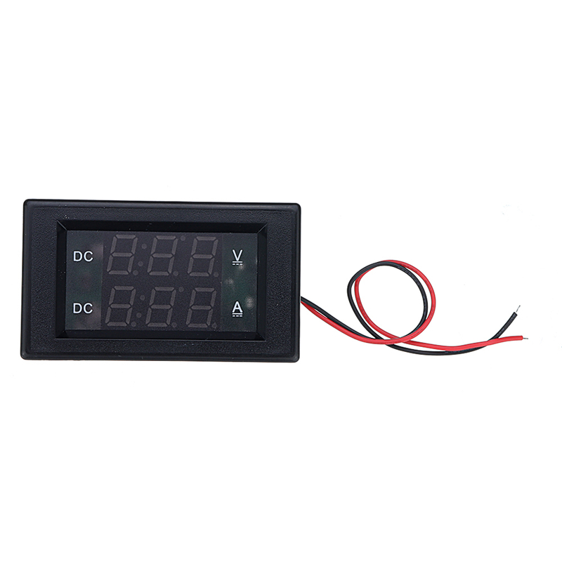Digital DC0-100V 20A Voltmeter Ammeter Red Green <font><b>LED</b></font> Dual Display For 12v <font><b>24v</b></font> Voltage Current Monitor No Need External Shunt image