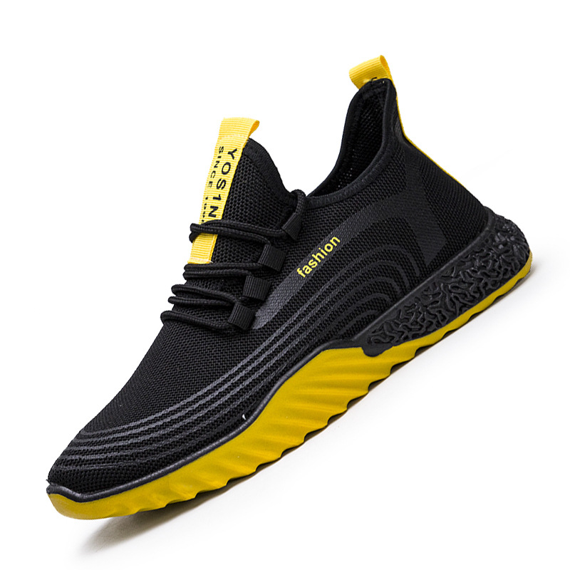 Spring Hot Sale Fashion Men Casual Shoes Mesh Breathable Sneakers Walking Male Footwear New Comfortable Lightweight Shoes