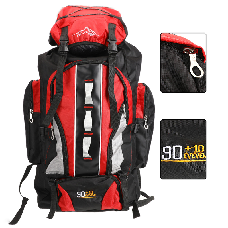 100L Large Capacity Outdoor Sports Backpack Waterproof Travel Bag Hiking Climbing Fishing Camping Bags for Men and WomenClimbing Bags   -