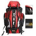 100l grande capacidade de esportes ao ar livre mochila saco de viagem à prova dwaterproof água caminhadas escalada pesca acampamento sacos para homens e mulheres