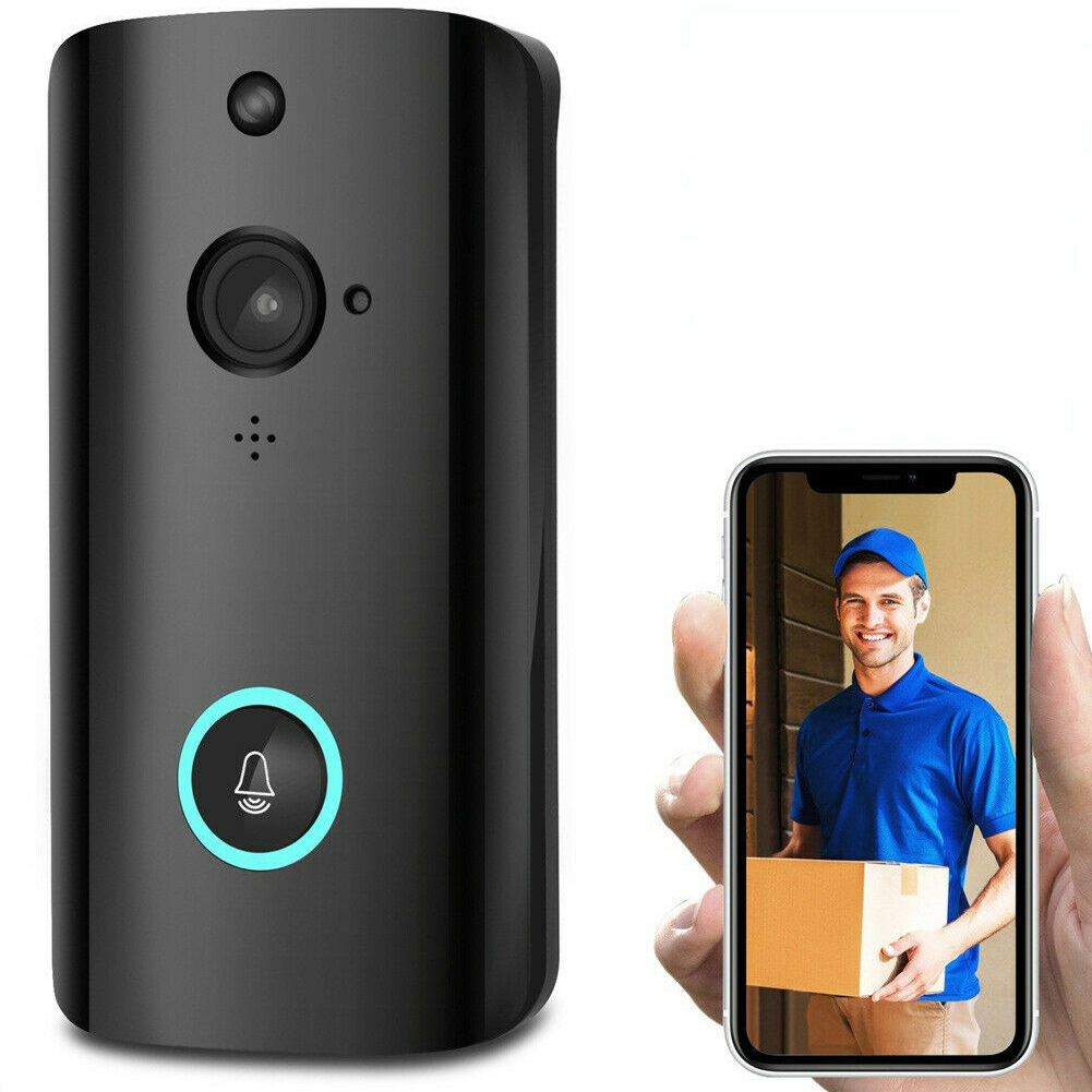 1080P Smart WIFI Security Doorbell Wireless Video Phone Camera With Night Vision DJA99