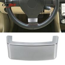 Auto Decoratie Stuurwiel Trim Sequin Cover Chrome Emblem Auto Accessoires Voor Vw Golf MK5 Plus 5 Gti Passat B6 3C Eos Jetta