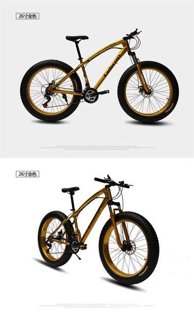High Performance Mountain Bike 4
