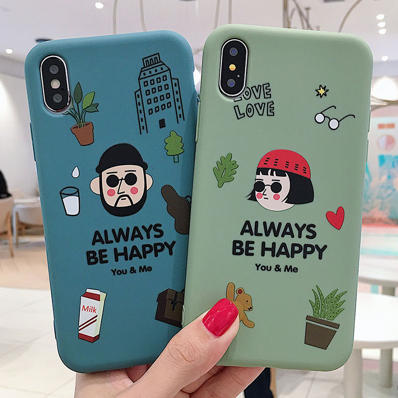Cartoon Cool Couples Killer Silicon Soft Phone Case For Iphone 11 Pro MAX