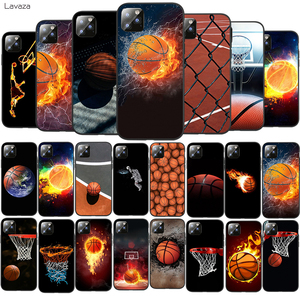 Lavaza Fiery Basketball Slam Dunk TPU Soft Case for iPhone 8 7 6 6S Plus 5 5S SE X XS 11 Pro Max XR Coque Shell Cases(China)