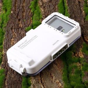 Image 3 - Cadiso 45 m/147ft Su Geçirmez Dalış Durumda Konut Fotoğraf Video Alarak Sualtı Kapak için Galaxy Huawei Xiaomi Tipi tip c Portu