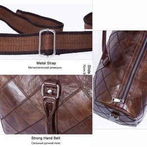 Image 5 - WESTAL גברים של נסיעות תיקי יד מזוודות דובון תיקי עור מזוודות תיק נסיעות מזוודות תיקי גדול/בסוף השבוע תיק