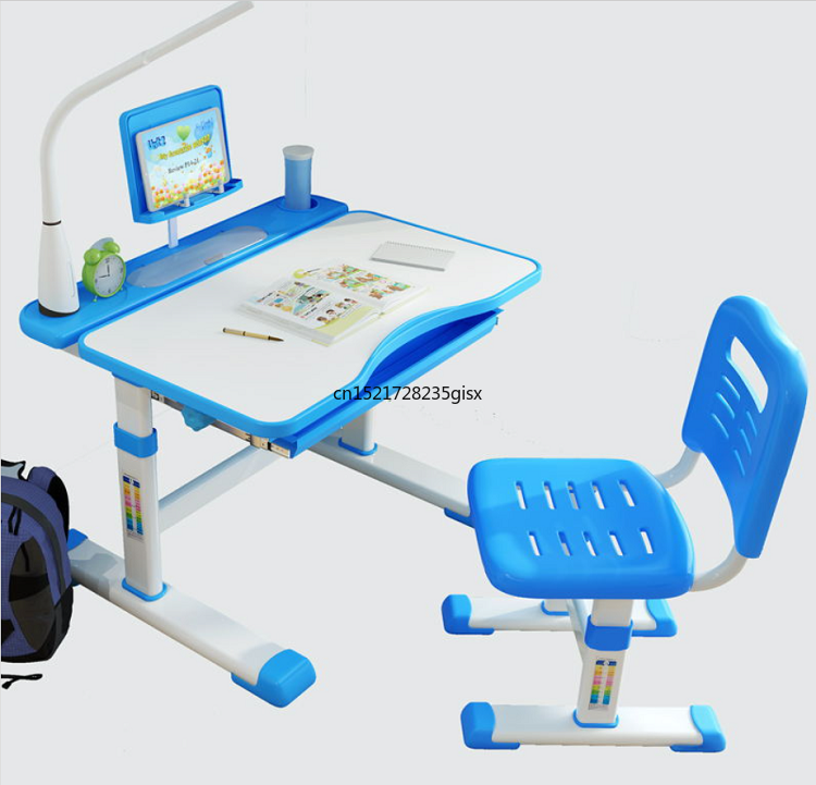 Children's Study Desk  Home Desk  Writing Desk And Chair Set For Elementary School Students Simple Desk And Chair Boys And Girls|  - title=