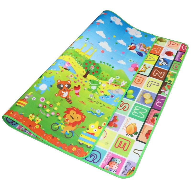 Épais personnalisable bébé tapis rampant infantile escalade Pad étanche à l'humidité Coaster tapis extérieur enfants jeu couverture cadeau